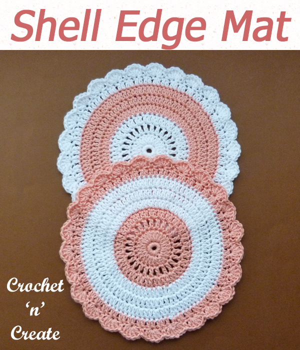 shell edge mat