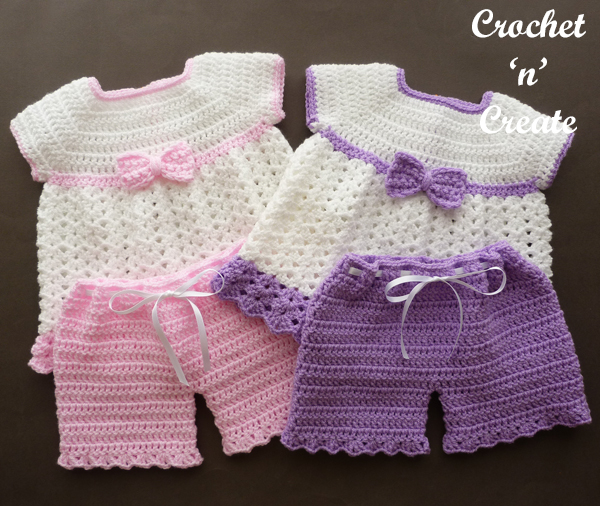 Angel Dress-Pants Baby Set