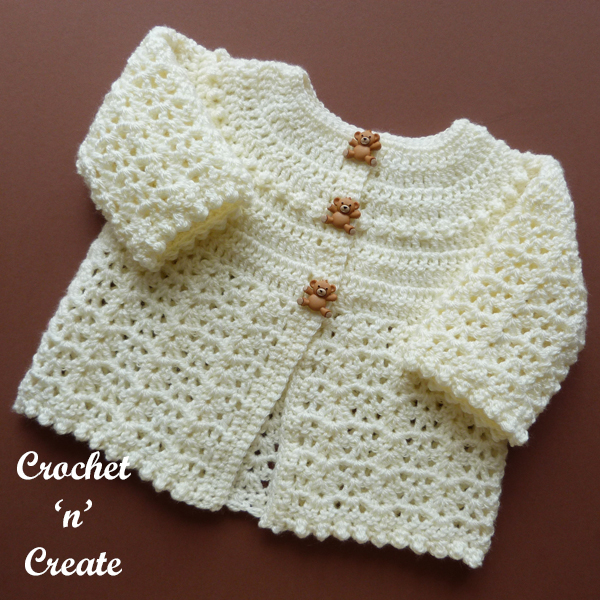 cream baby baptism coat
