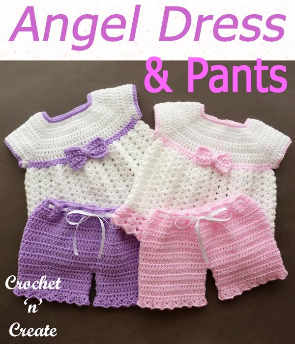angel dress and pants