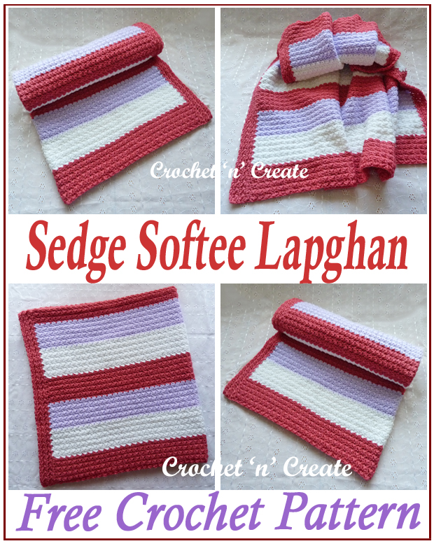 crochet sedge softee lapghan