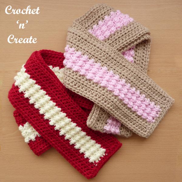 simple fun scarf