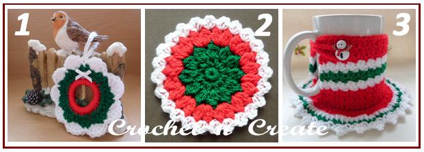 three across christmas designs