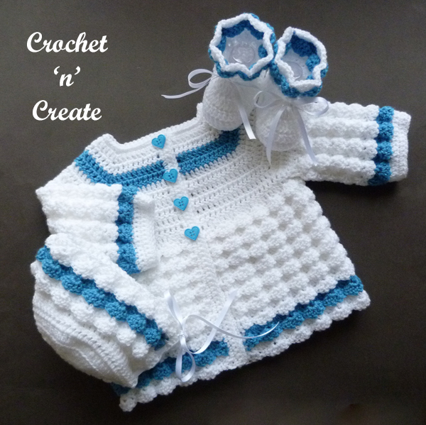 raised shell baby outfit2
