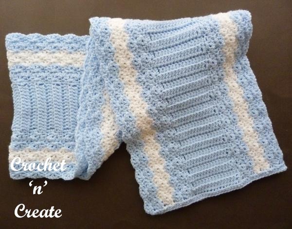 flat crochet wrap
