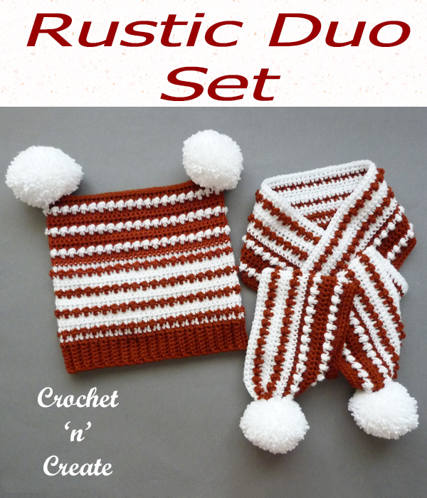 rustic duo set