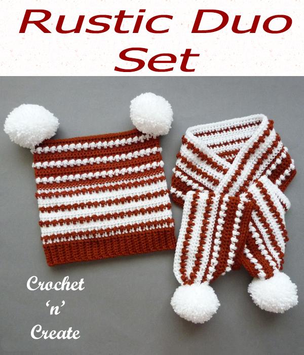 rustic duo set