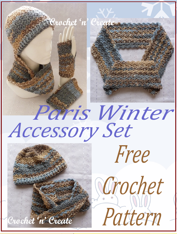 paris winter accessory set