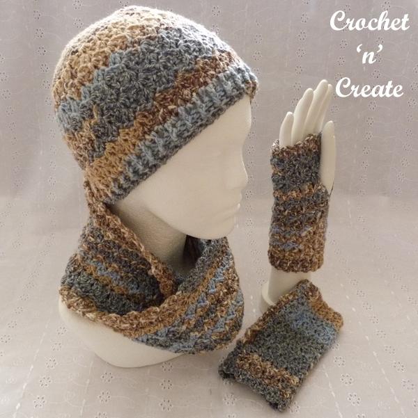 paris winter accessory set