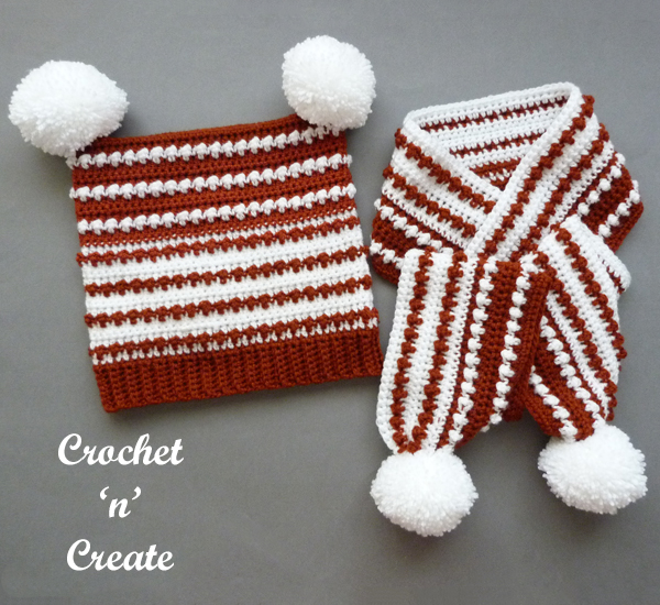 crochet rustic duo set
