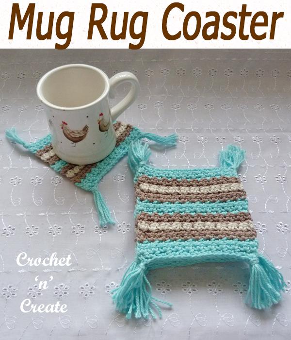 mug rug coaster