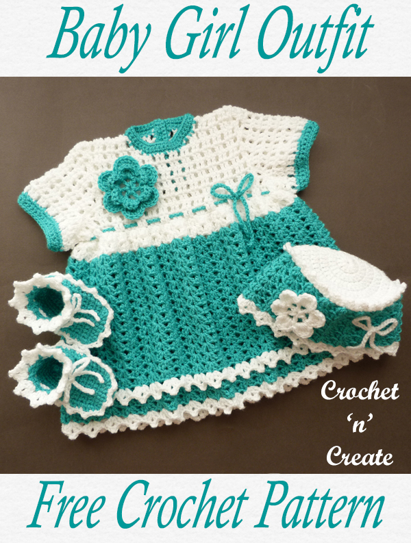 crochet baby girl outfit