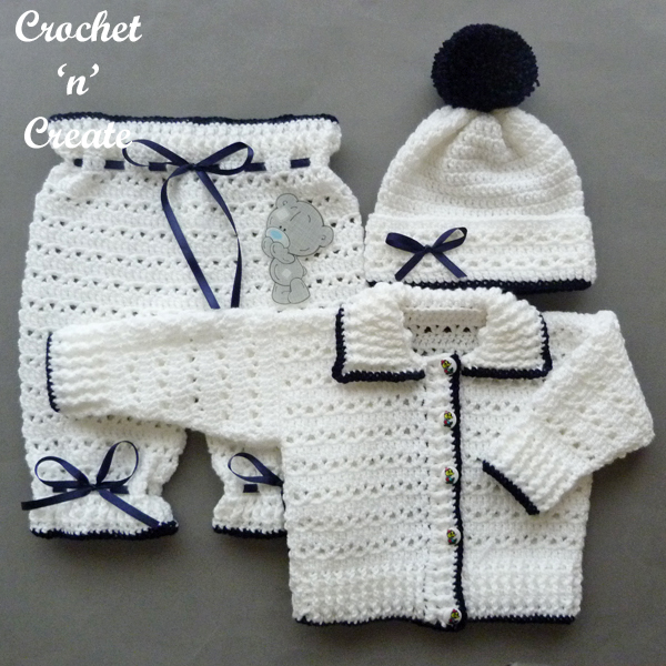 three piece baby set