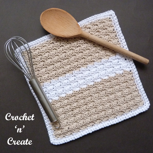 crochet Kitchen Dishcloth
