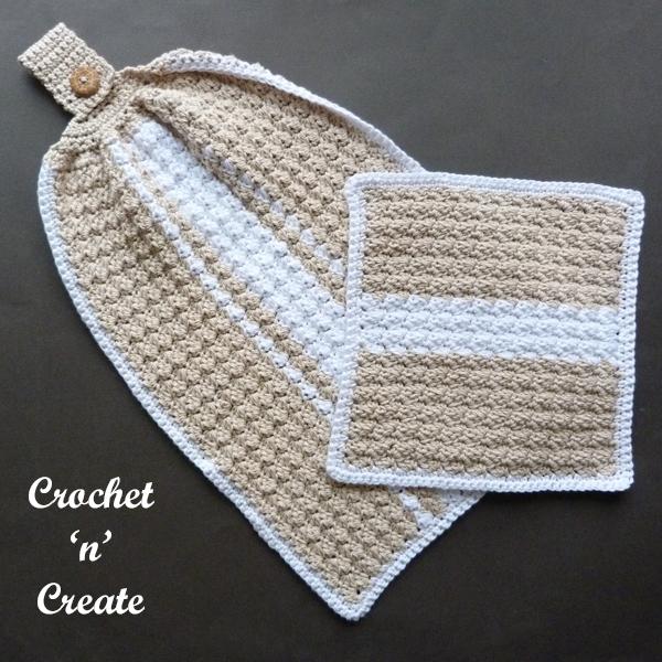 Flat crochet Set
