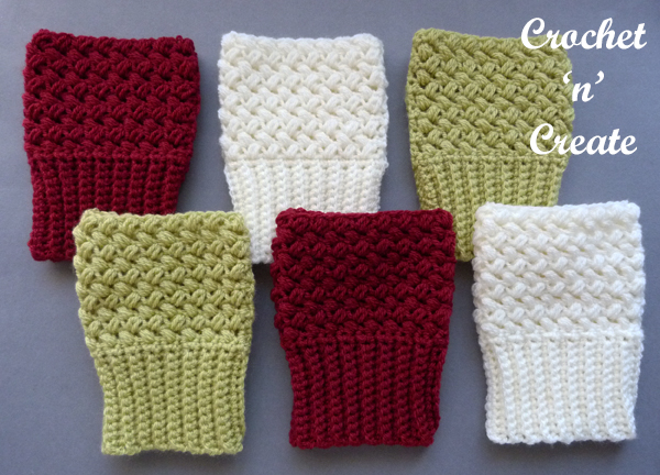 warm fingerless mitts