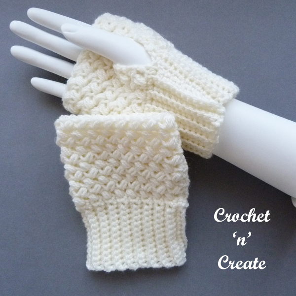 Cream on arm gloves