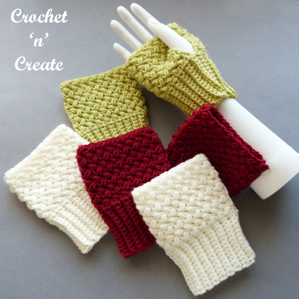 Colours of mitts