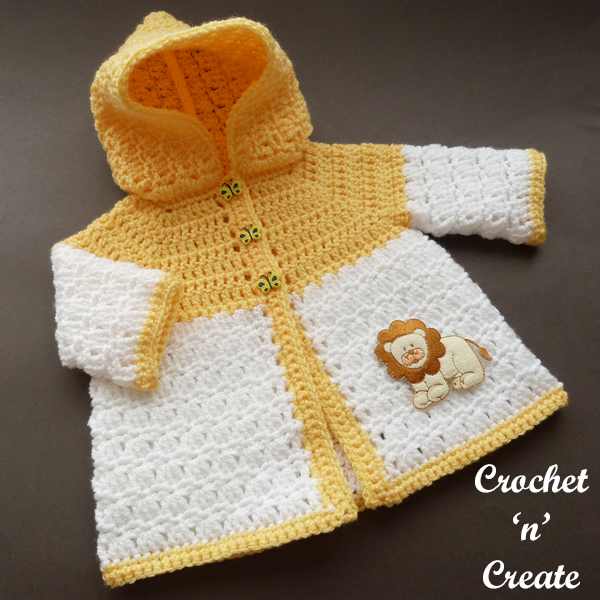 newborn hooded coat
