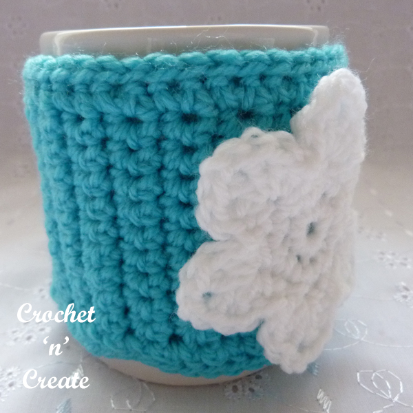 blue mug cosy