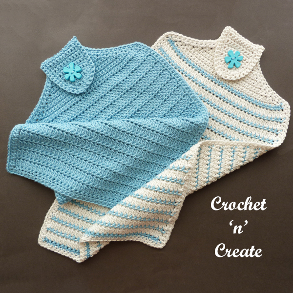 crochet hand towel pattern