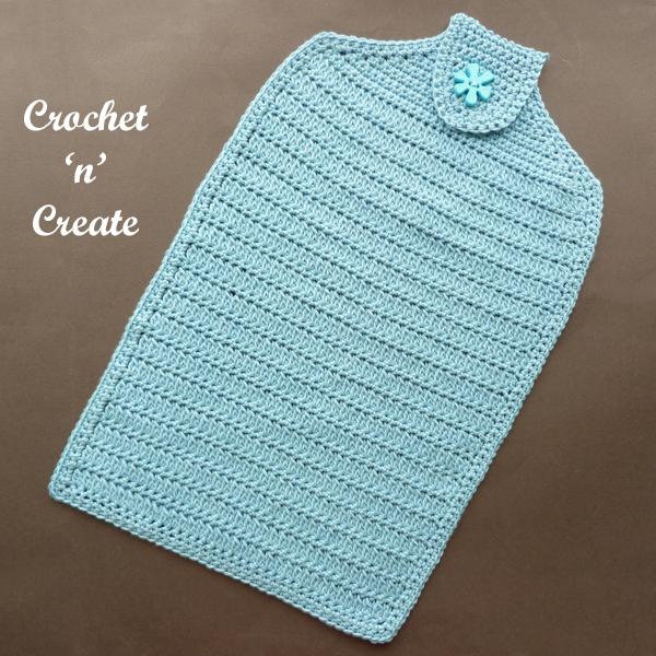 blue hand cloth