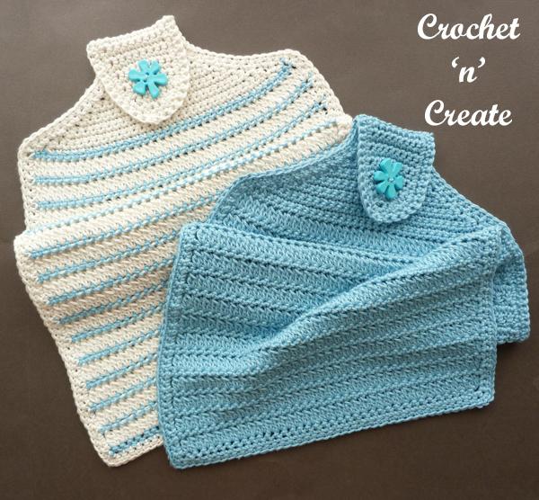 crochet hand towel pattern