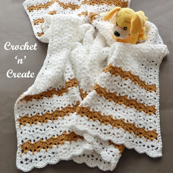 crochet sandbox baby blanket pattern