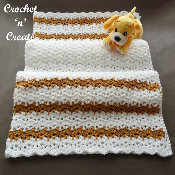 crochet sandbox baby blanket pattern