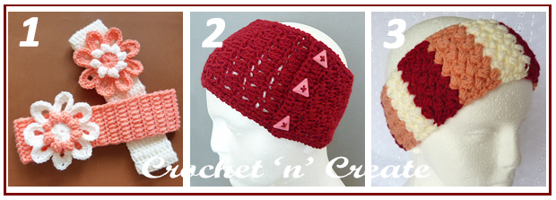 three across headbands