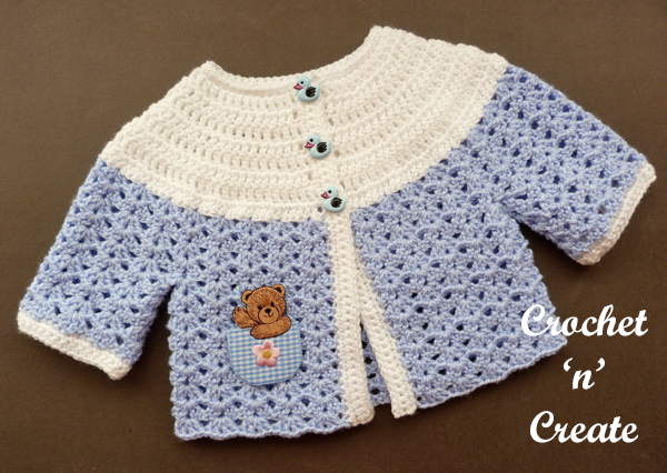 baby sweater blue