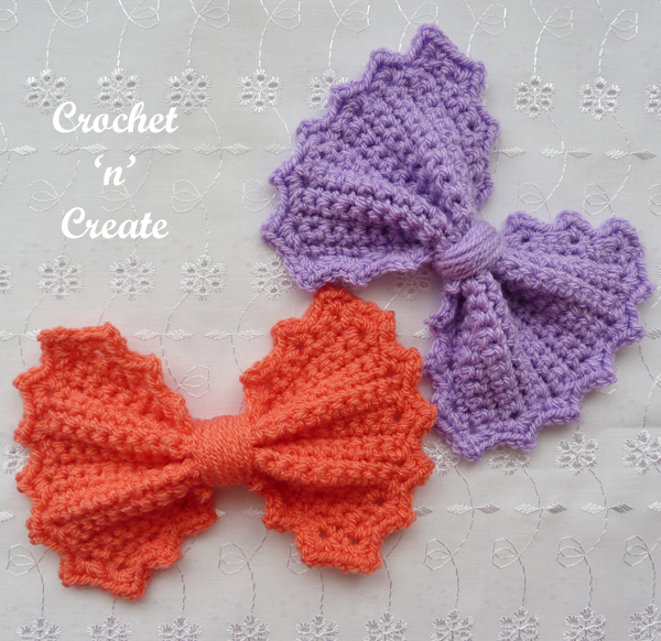 big bow crochet pattern