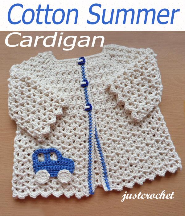 cotton summer cardi