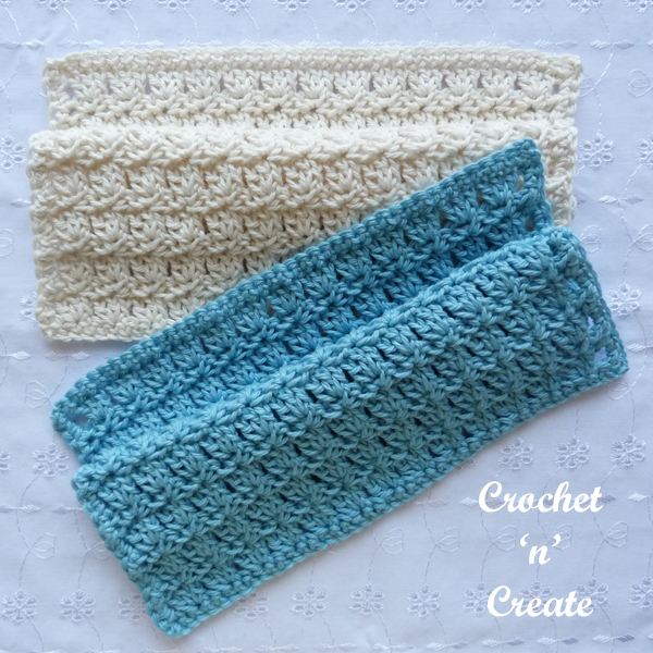 primrose crochet dishcloth pattern