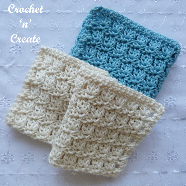 primrose dishcloth