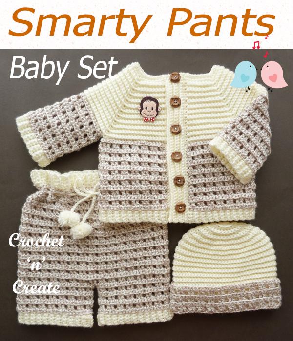 smarty pants baby set