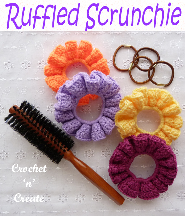 ruffled scrunchie