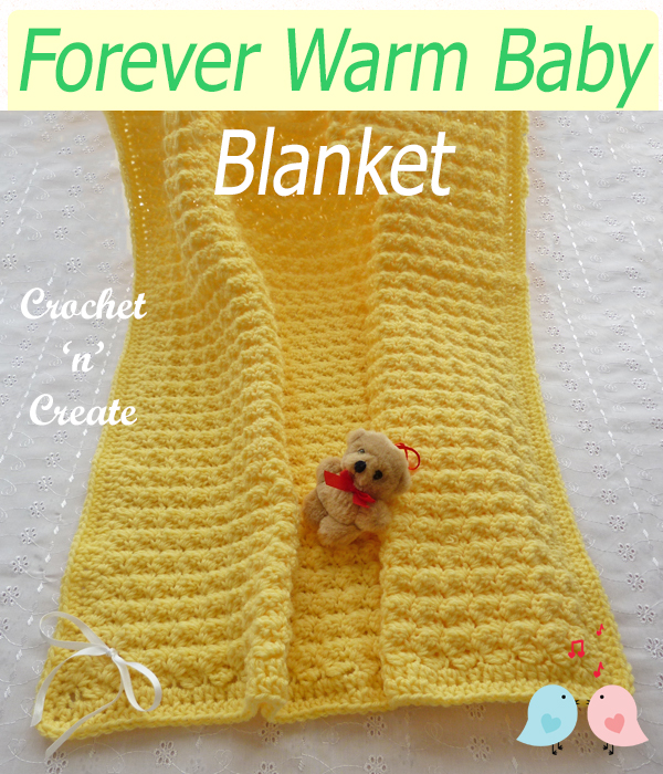 forever warm baby blanket