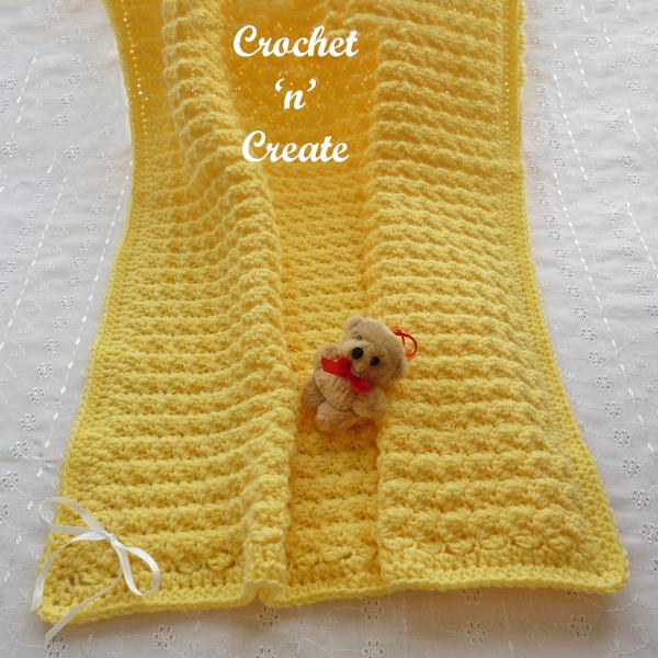 forever warm crochet baby blanket