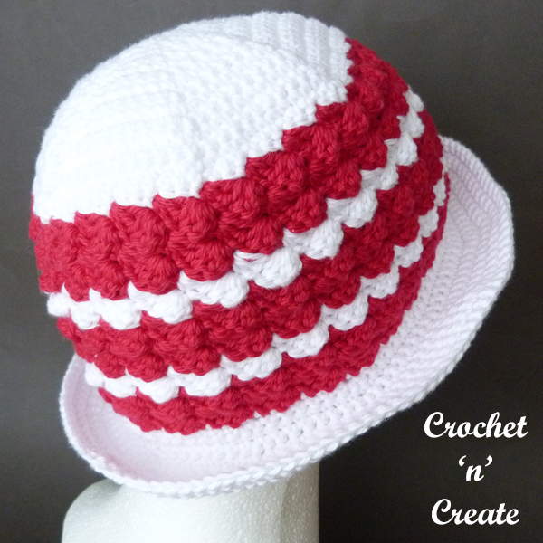 crochet sunshine hat pattern