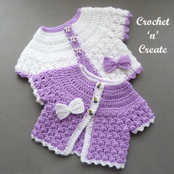 baby short sleeve coat pattern