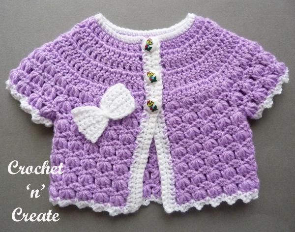 baby short sleeve coat lilac