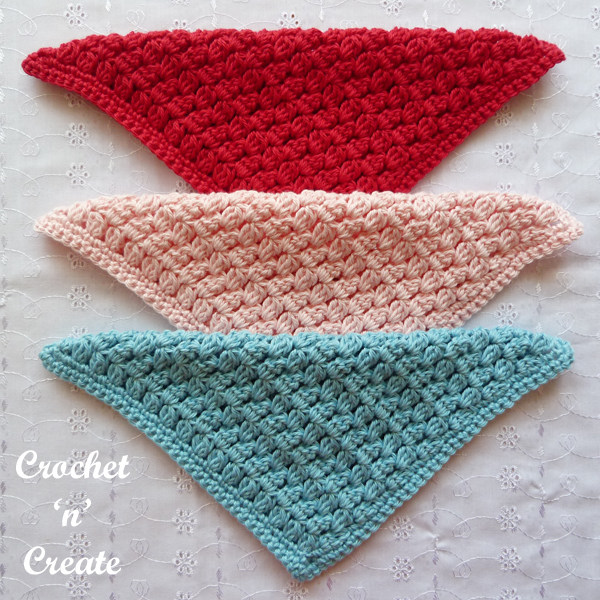 crochet cluster dishcloth patterns