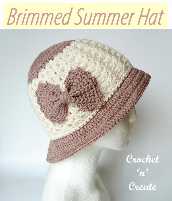 brimmed summer hat