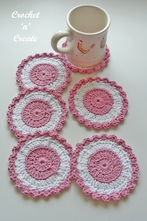 cotton coaster