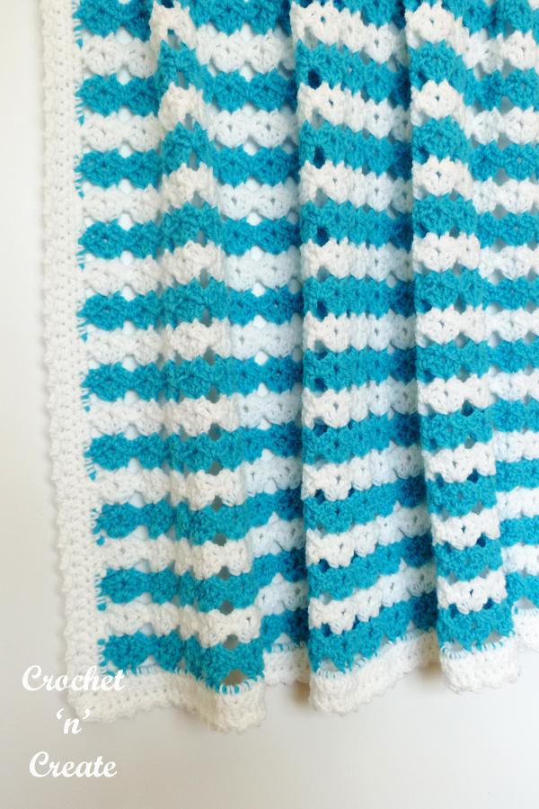 crochet snuggle buddy baby blanket