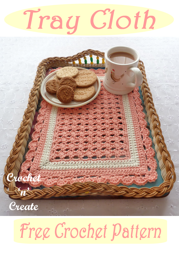 crochet tray cloth pattern