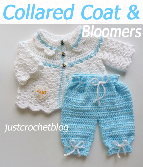 collared coat and bloomers