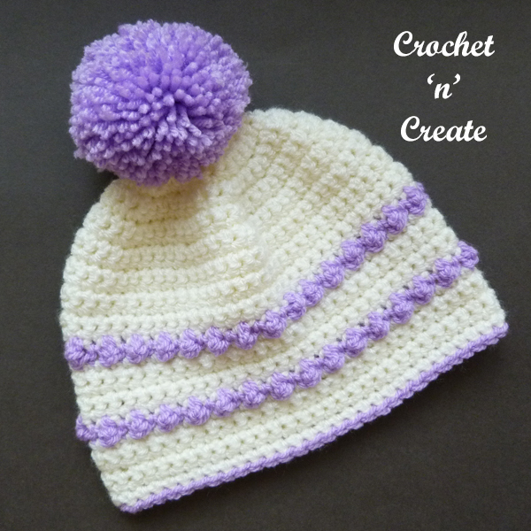 single bobble hat
