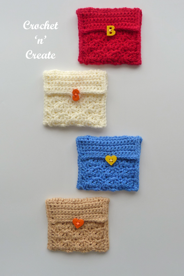 crochet money purse pattern